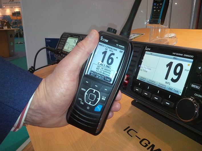 Icom Launch IC-M93D Handheld