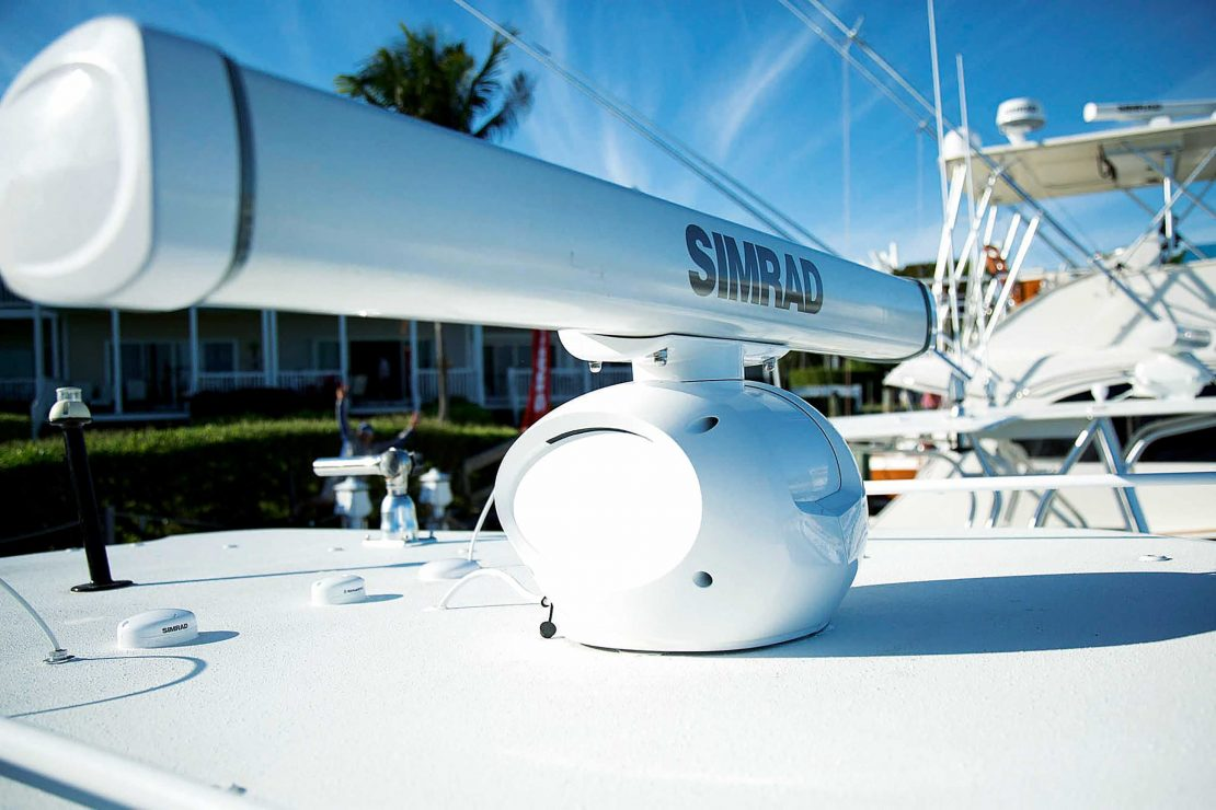 Halo Radar from Simrad