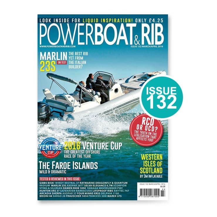 Issue 132 Powerboat & RIB Magazine