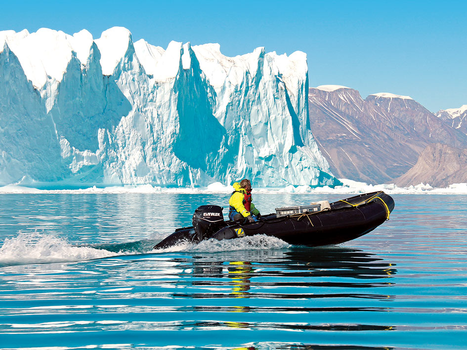 Arctic Greenland Adventure – text correction