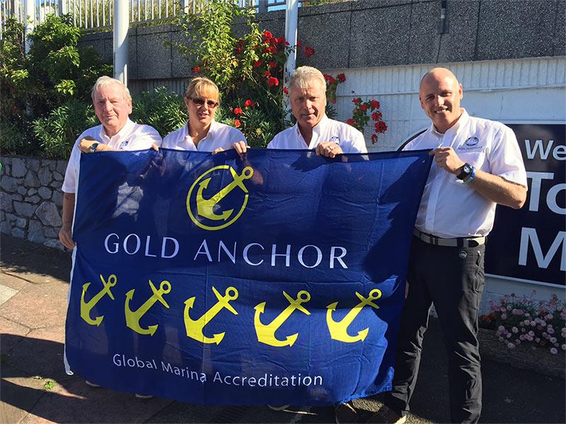 Torquay Marina Honoured
