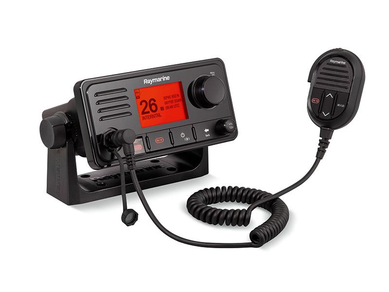 Raymarine's latest VHF radios