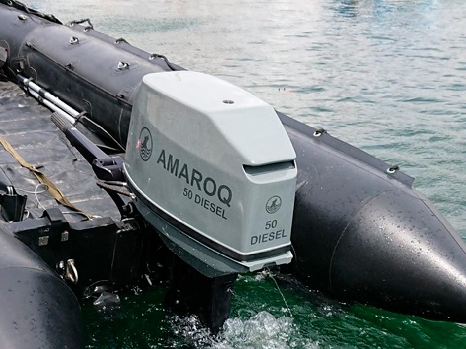 Amaroq Diesel Outboard
